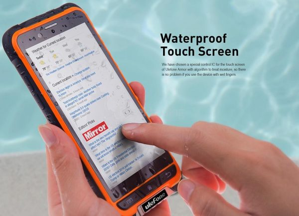 Ulefone Armor Waterproof Touchscreen