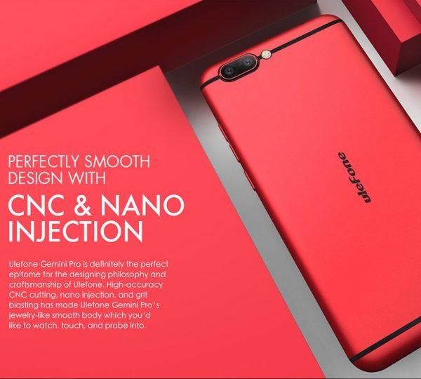 Ulefone Gemini Pro CNC Nano