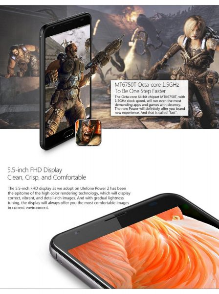 Ulefone Power 2 FullHD Gaming