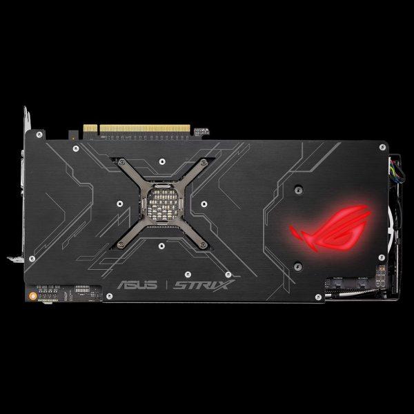 ASUS ROG Strix RX Vega64 OC Backside LED