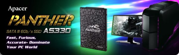 Apacer AS330 Panther Banner