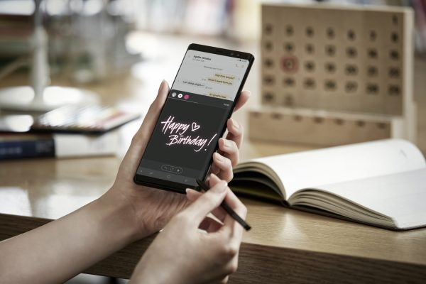 Galaxy Note8 Live Message