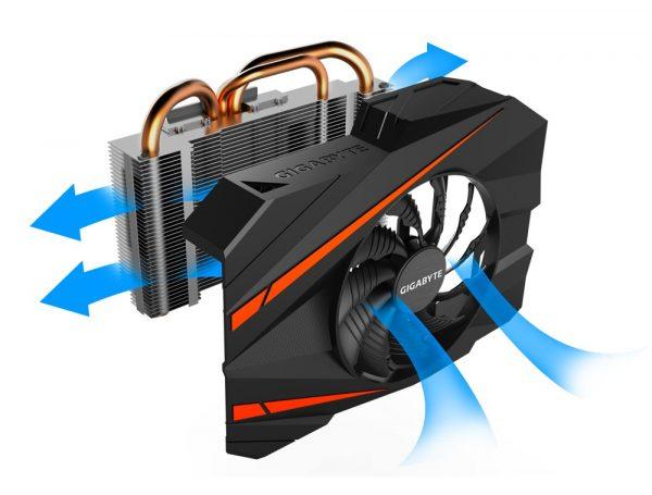 Gigabyte GTX 1080 Mini-ITX Cooling