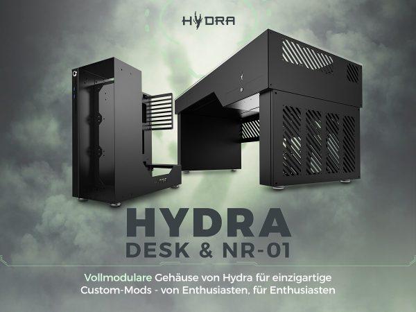Hydra Desk und NR-01