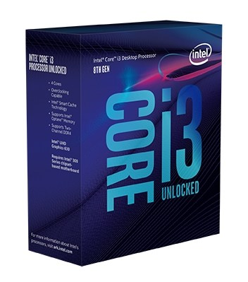 Intel Core i3 8th gen box