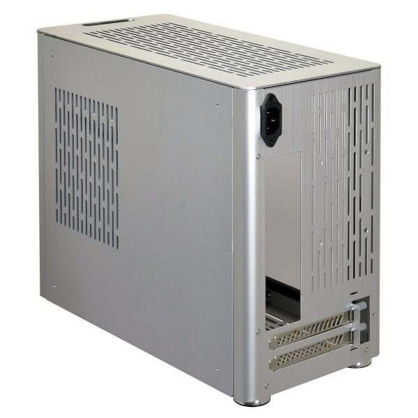Lian Li PC-Q38 Alu back