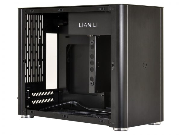Lian Li PC-Q38 Blk open left