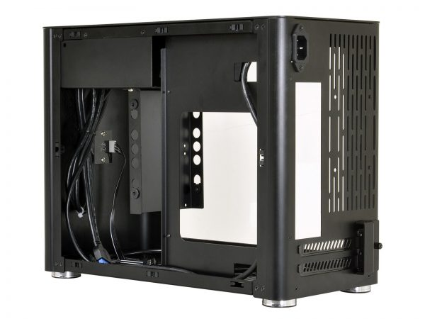 Lian Li PC-Q38 Blk open right