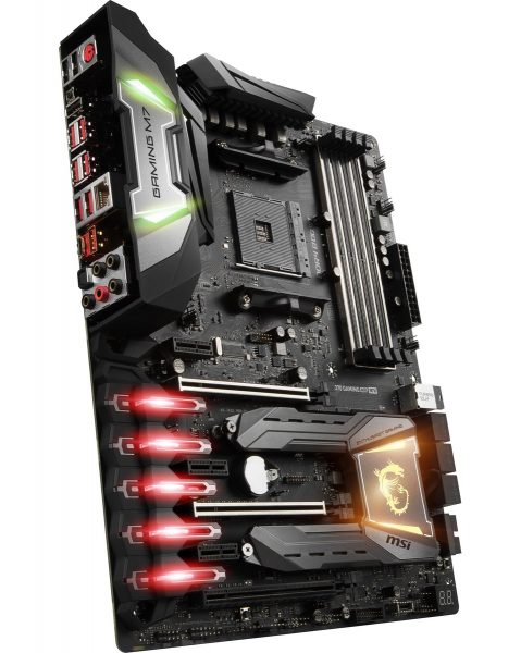 MSI X370 Gaming M7 ACK Anschlüsse