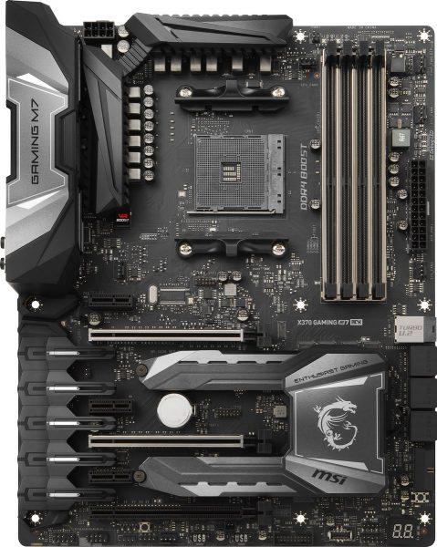 MSI X370 Gaming M7 ACK frontal