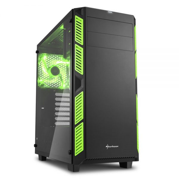 Sharkoon AI7000 Glass Green