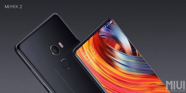 Xiaomi Mi Mix 2 BlackTop
