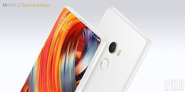 Xiaomi Mi Mix 2 Special Edition White