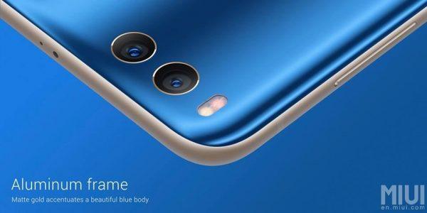 Xiaomi Mi Note 3 Aluminium Frame