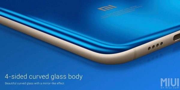 Xiaomi Mi Note 3 Curved Glass Body