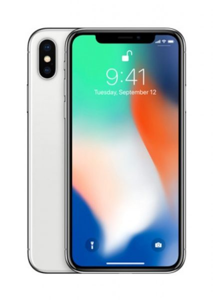 iPhone X Silber