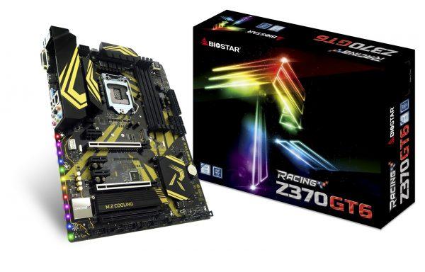 Biostar Racing Z370GT6 Box