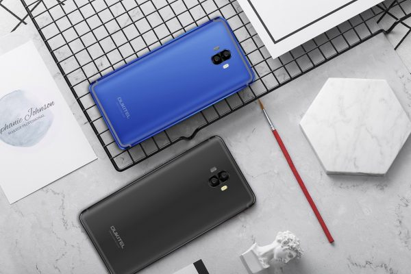 Oukitel K8000 Blue and Black