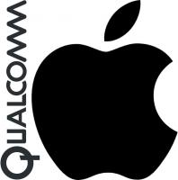 Qualcomm Apple Logos