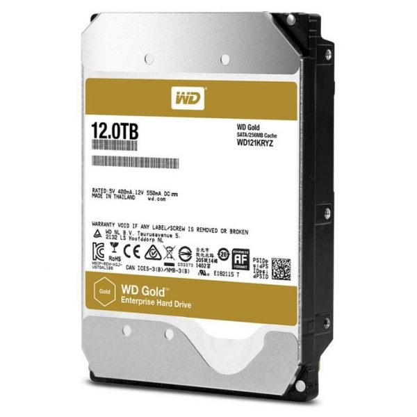 WD Gold 12TB