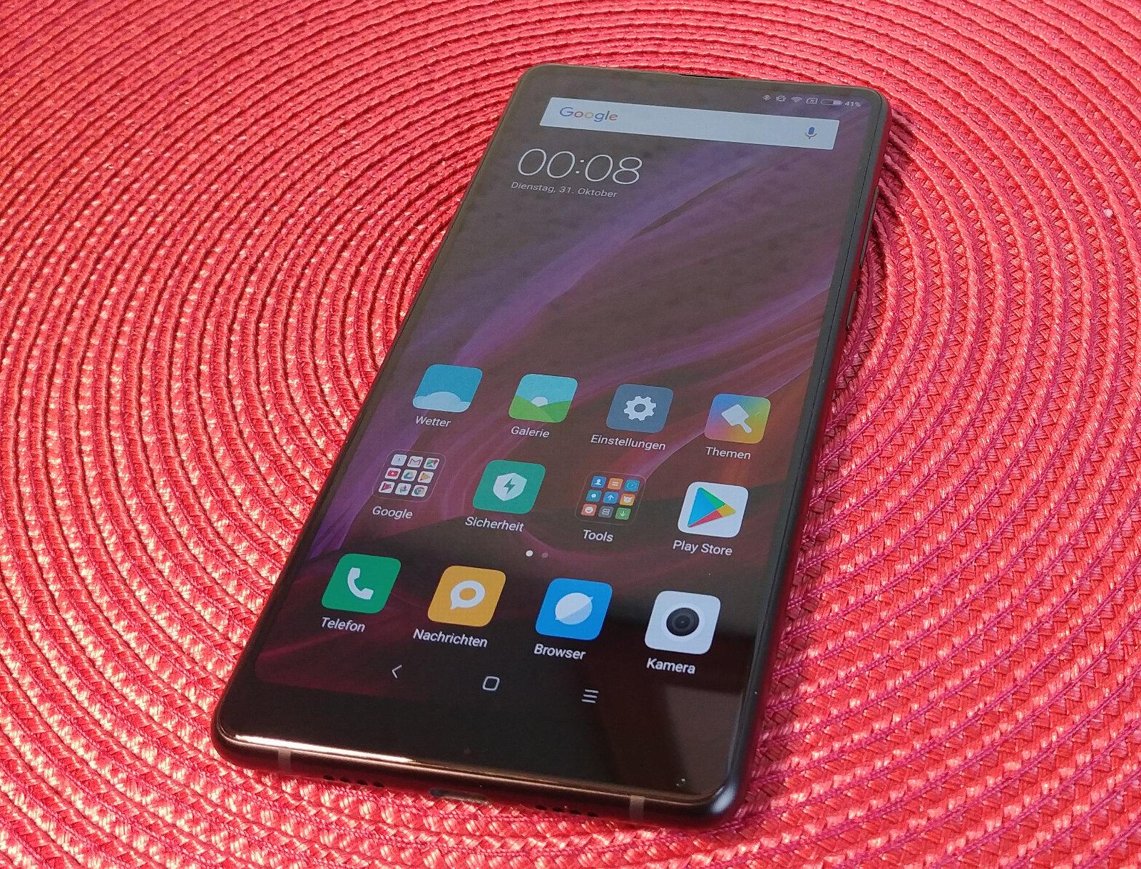 Xiaomi Mi Mix 2 im Test: Randlos und rastlos – Hartware