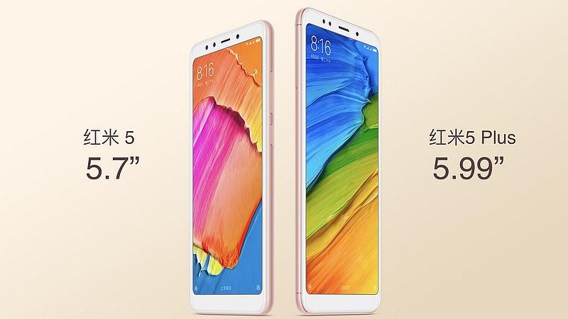 Xiaomi Redmi 5 (Plus): Günstige 18:9-Smartphones aus China
