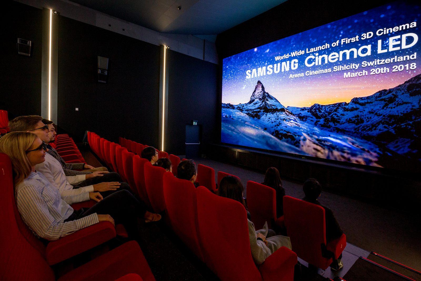 samsung cinema led screen kommt nach europa hartware. Black Bedroom Furniture Sets. Home Design Ideas